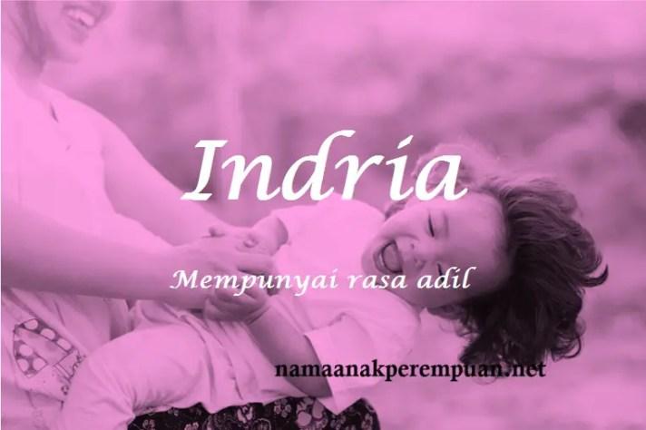 arti nama Indria