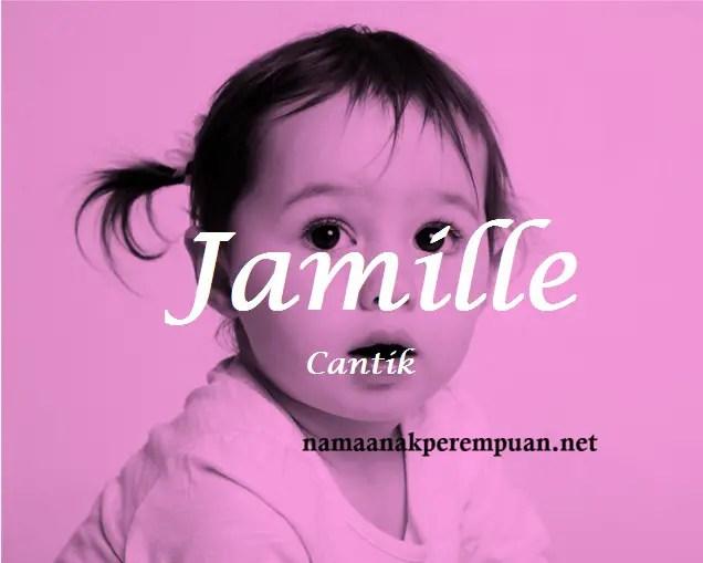 arti nama Jamille