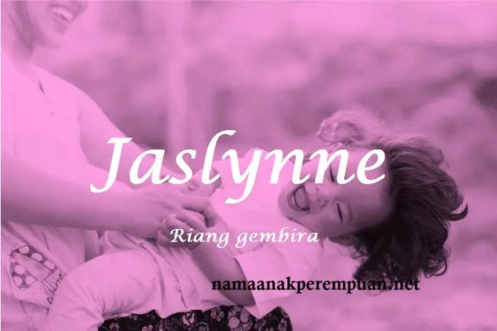 arti nama Jaslynne