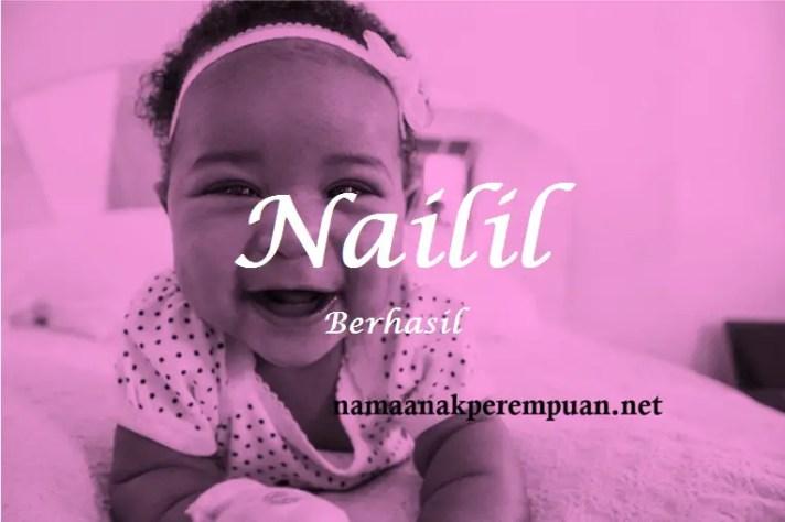 arti nama Nailil