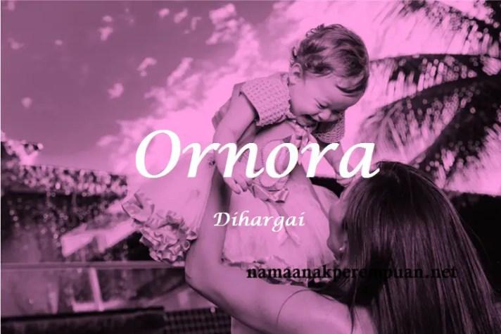 arti nama Ornora