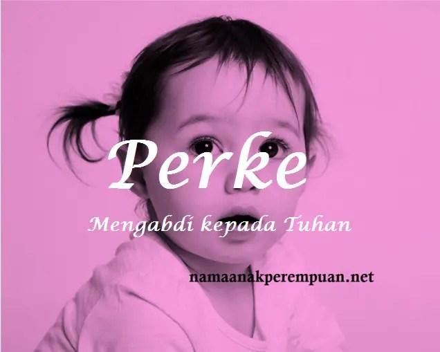 arti nama Perke