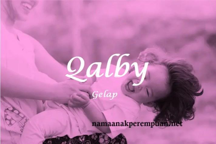arti nama Qalby