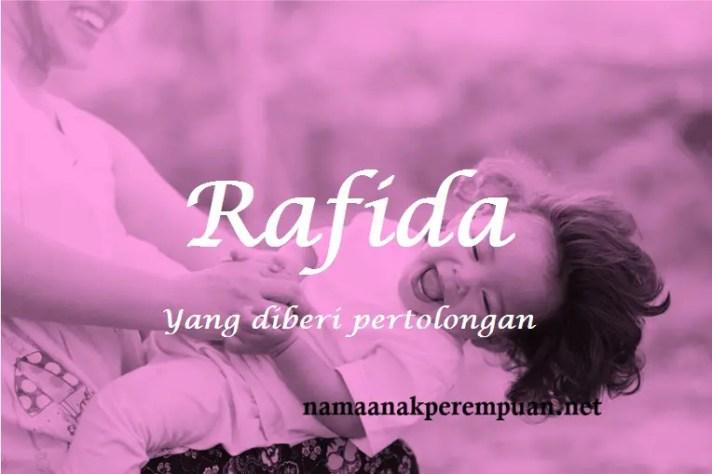 arti nama Rafida