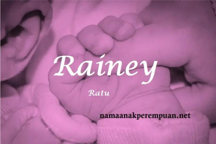 arti nama Rainey