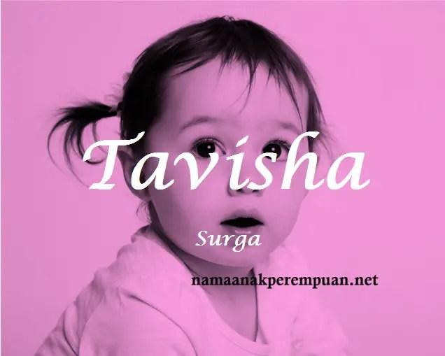 arti nama Tavisha
