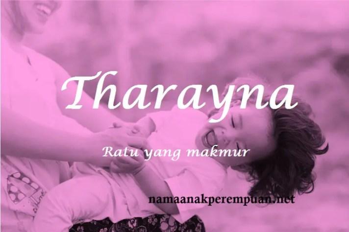 arti nama Tharayna