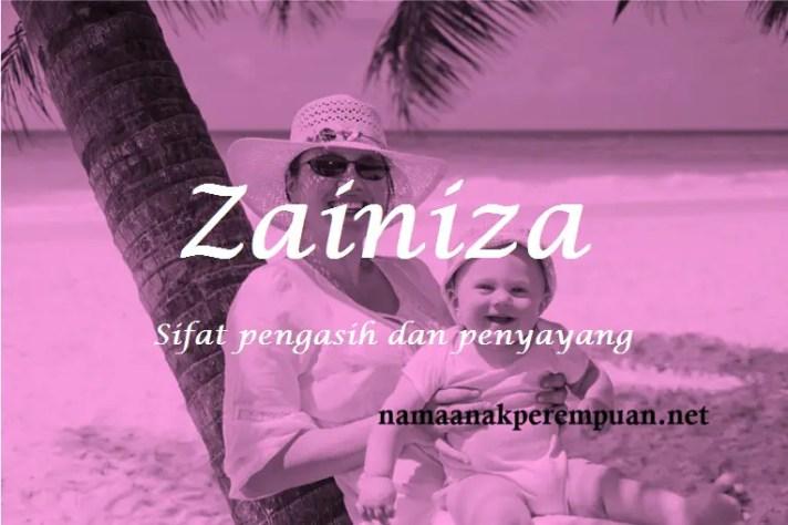 arti nama Zainiza