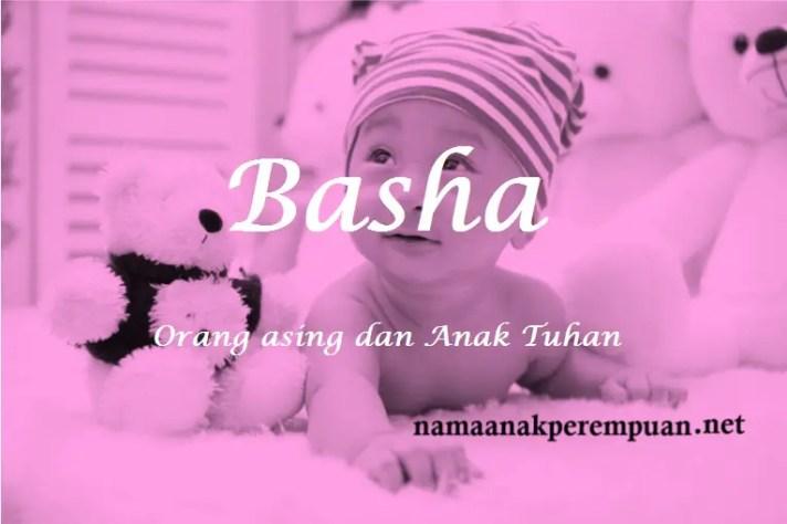 arti nama Basha