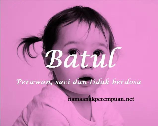 arti nama Batul
