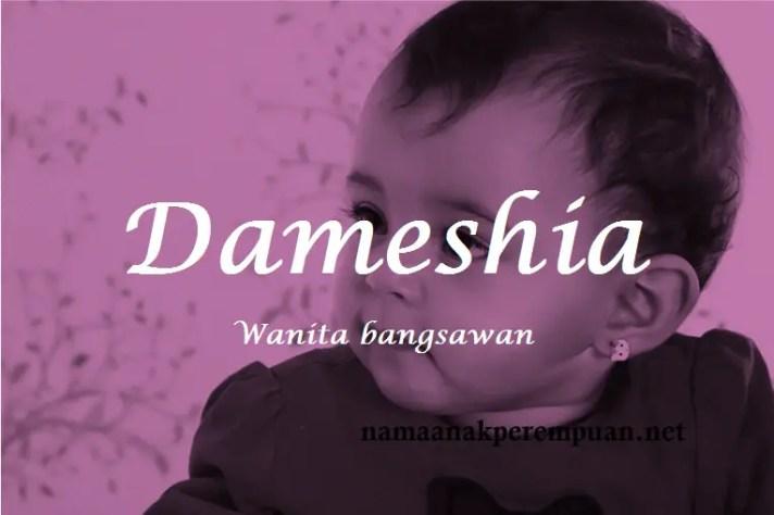 arti nama Dameshia