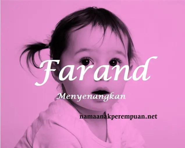 arti nama Farand
