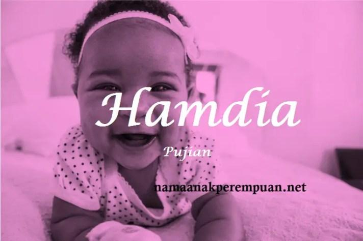 arti nama Hamdia