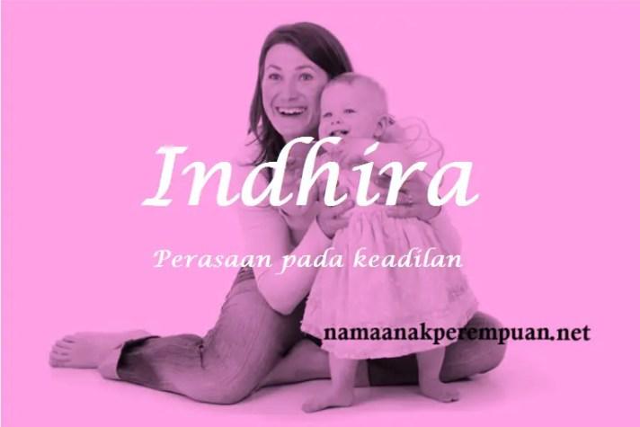 arti nama Indhira