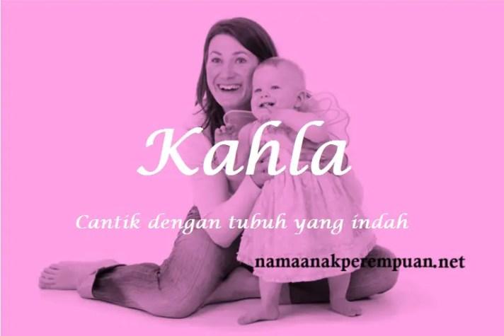 arti nama Kahla