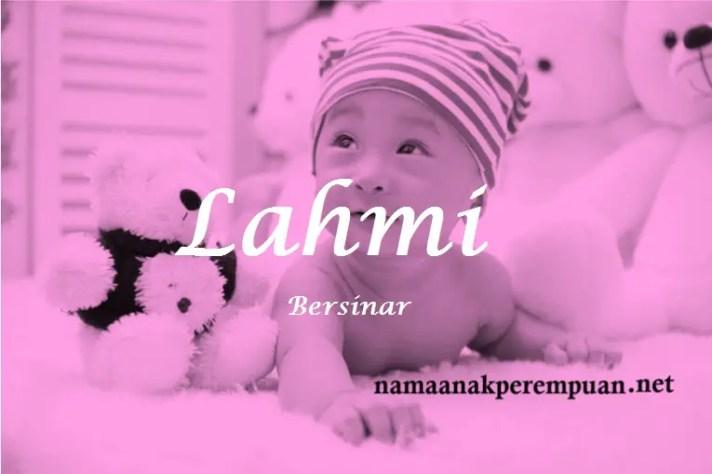 arti nama Lahmi