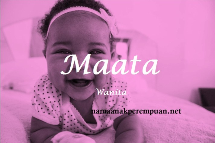 arti nama Maata
