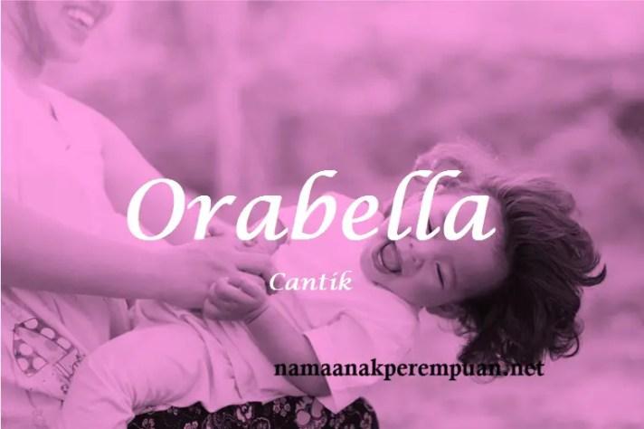 arti nama Orabella