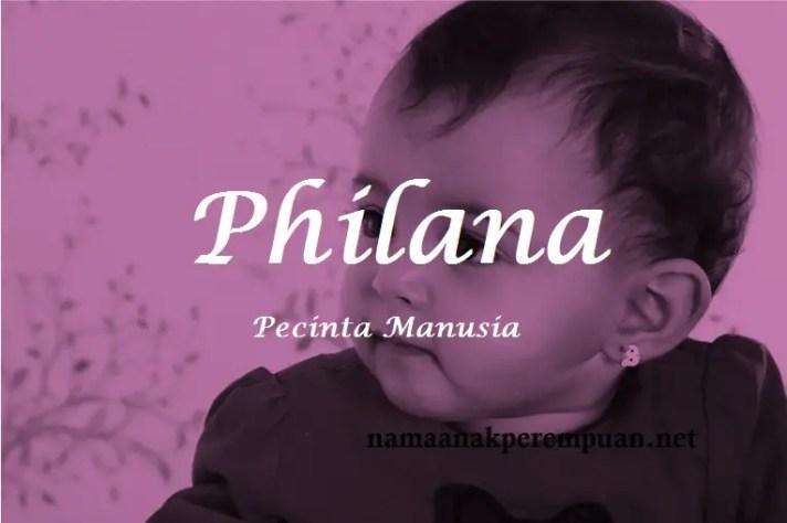 arti nama Philana