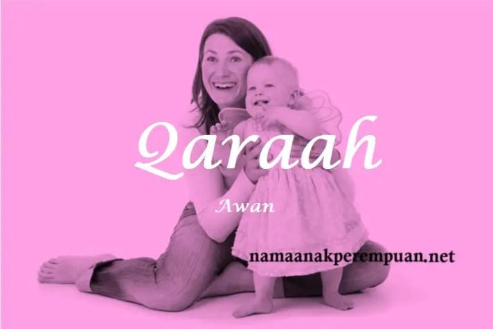 arti nama Qaraah