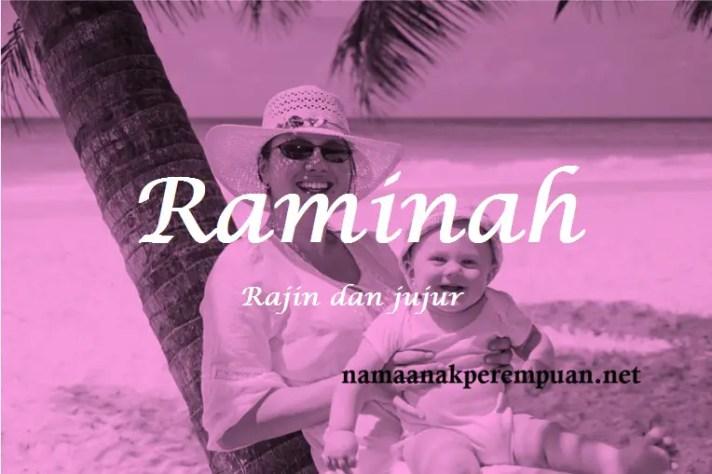 arti nama Raminah