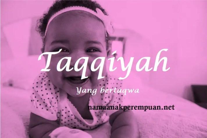 arti nama Taqqiyah