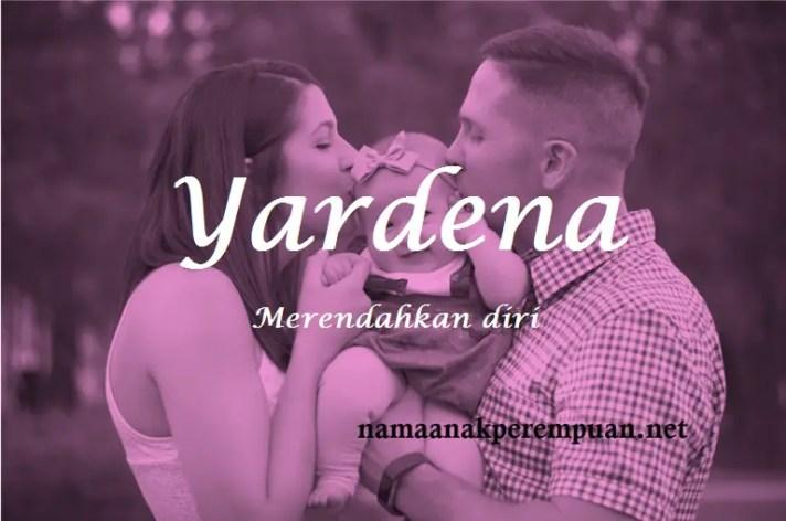 arti nama Yardena