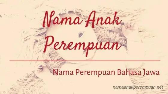 Nama Anak Perempuan Jawa