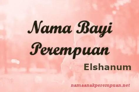 Nama Bayi Perempuan Elshanum