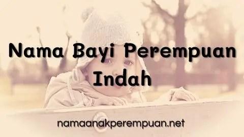 Nama Bayi Perempuan Indah