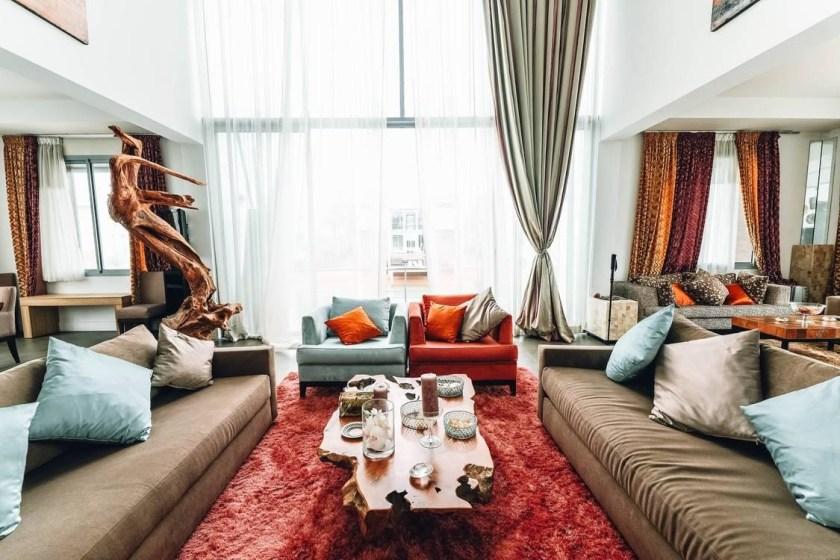 Set of Living Room Furniture