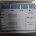 Jadwal senam Aerobik di Mentari Sport Center Surabaya