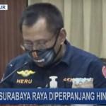 PSBB Surabaya Raya di perpanjang lagi untuk yang ke 3 dan berlaku sampai 8 Juni 2020