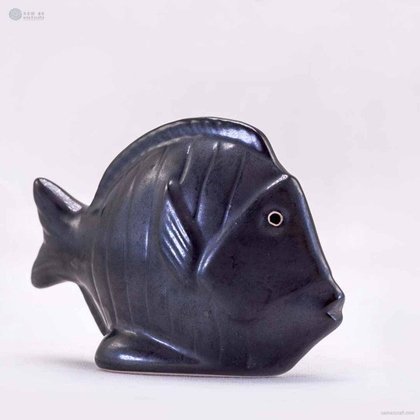 NA-ceramic-dark-discus-fish-figurine-ornaments-animal-model-gift-for-home-garden-statue-decorative-crafts