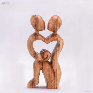 NA-mother-and-child-wooden-handmade-abstract-sculpture-gift-art-home-decor-figurine-family-collection