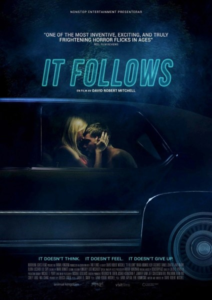 IT FOLLOWS font b Movie b font Poster font b Horror b font 2015 Print on