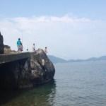 真珠浜海水浴場(福井小浜)BBQと素潜りができるほぼプライベートビーチ