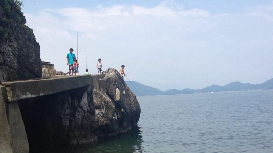 釣りもBBQも楽しめるオススメの海水浴場
