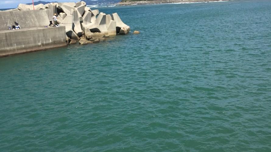 加尾漁港の釣り場紹介(和歌山中紀)春の大型アオリイカ狙い