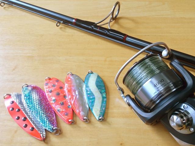 ライトな釣り道具
