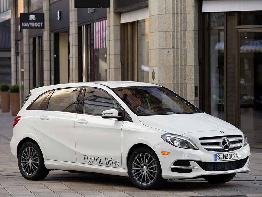 Mercedes Benz B Class Electric Drive
