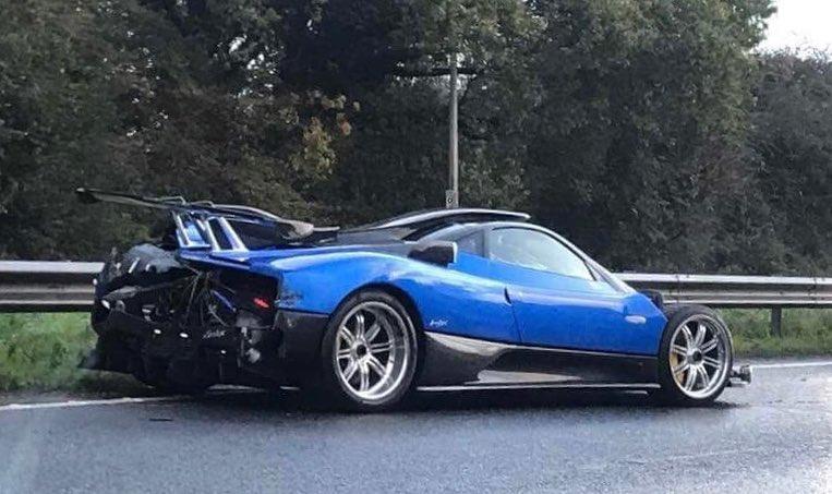 Pagani Zonda PS 760 crashed in United Kingdom - Namaste Car