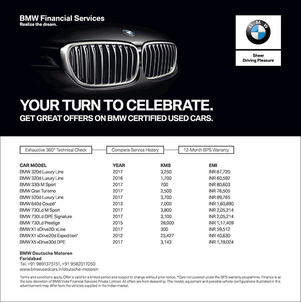 These Bmw Certified Used Cars Are On Sale Namastecar