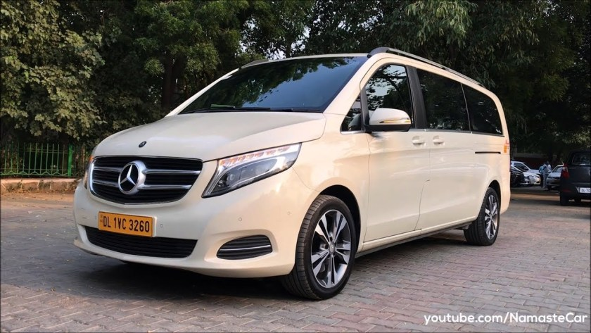 Mercedes Benz V Class V 220d 2018 Review Specs And Details In