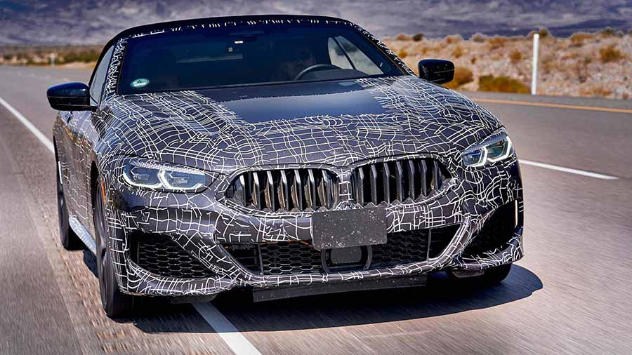 BMW Continues Its Current Luxury Segment Product Offensive With The Development Of A Further Model Variant New 8 Series