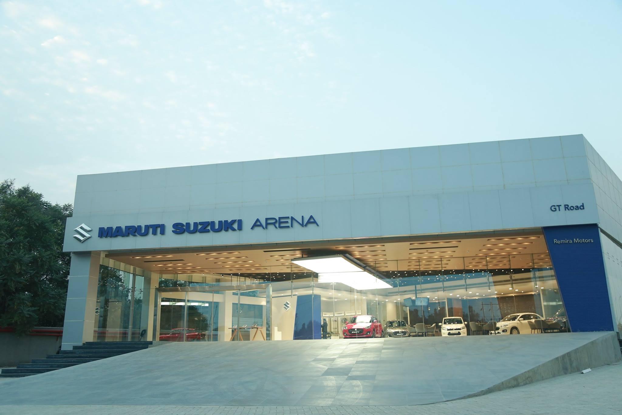 Maruti Suzuki Arena dealership, Remira Motors, GT Road