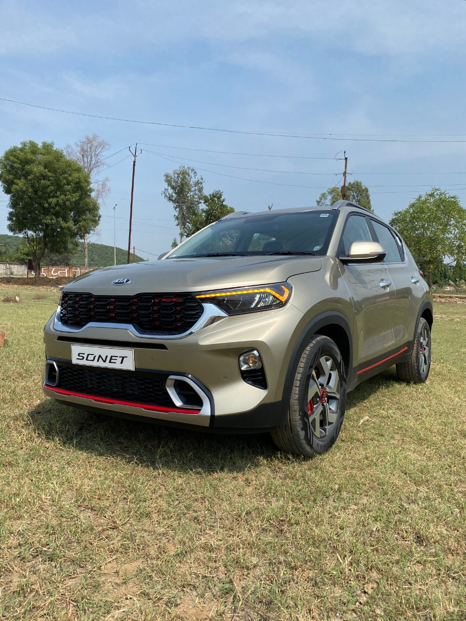 Kia Sonet Gt Line T Gdi 2020 Review Specs And Details In Hindi Namastecar