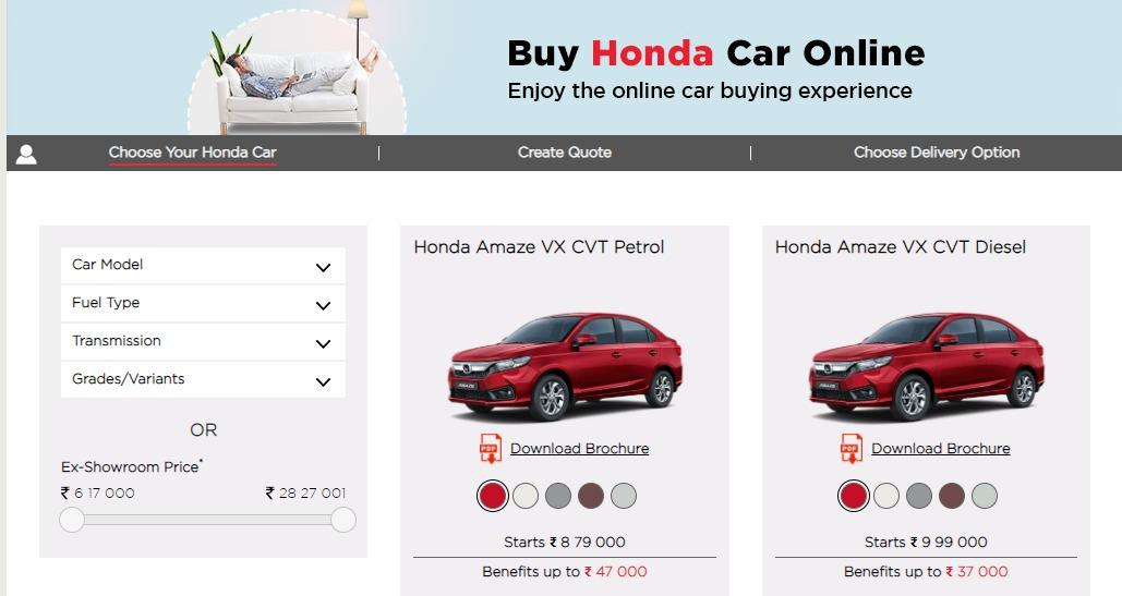 Coronavirus Pandemic Buy Honda Cars In India From Your Home Namastecar