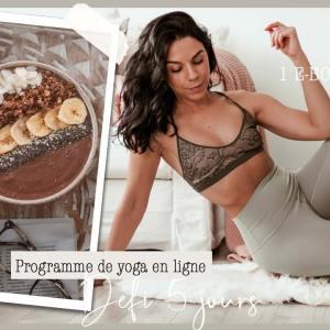 Programme de yoga- défi 5 jours