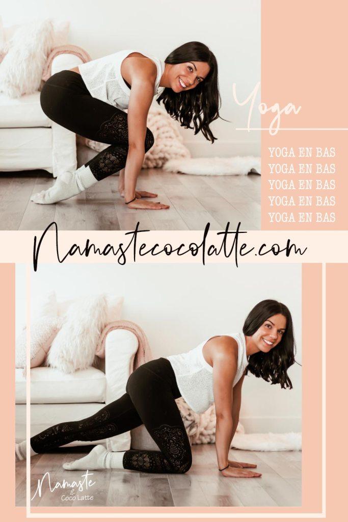 Yoga en bas | 5 exercices à faire chaussettes aux pieds - Namasté & Coco Latyé